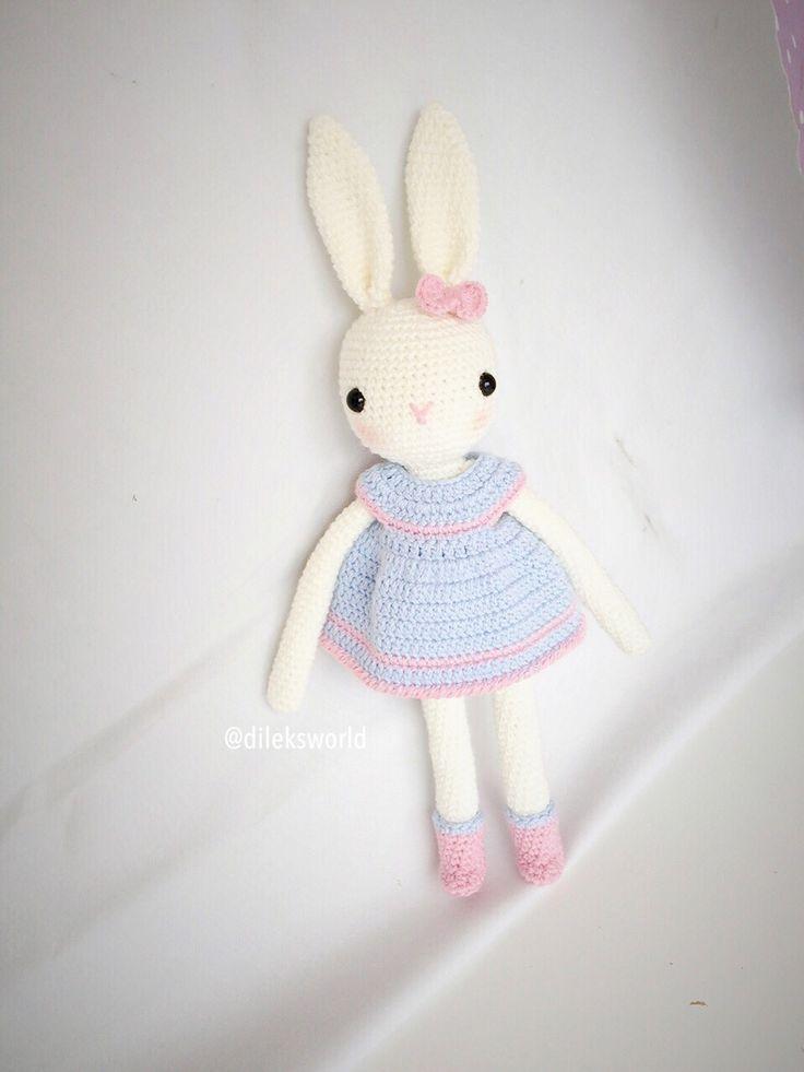 Tavşan kız / Bunny / kessedjian / amigurumi