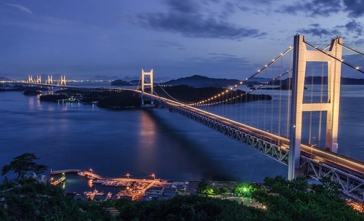 [The Seto Ohashi Bridge] - 岡山・瀬戸大橋 - Okayama, Japan