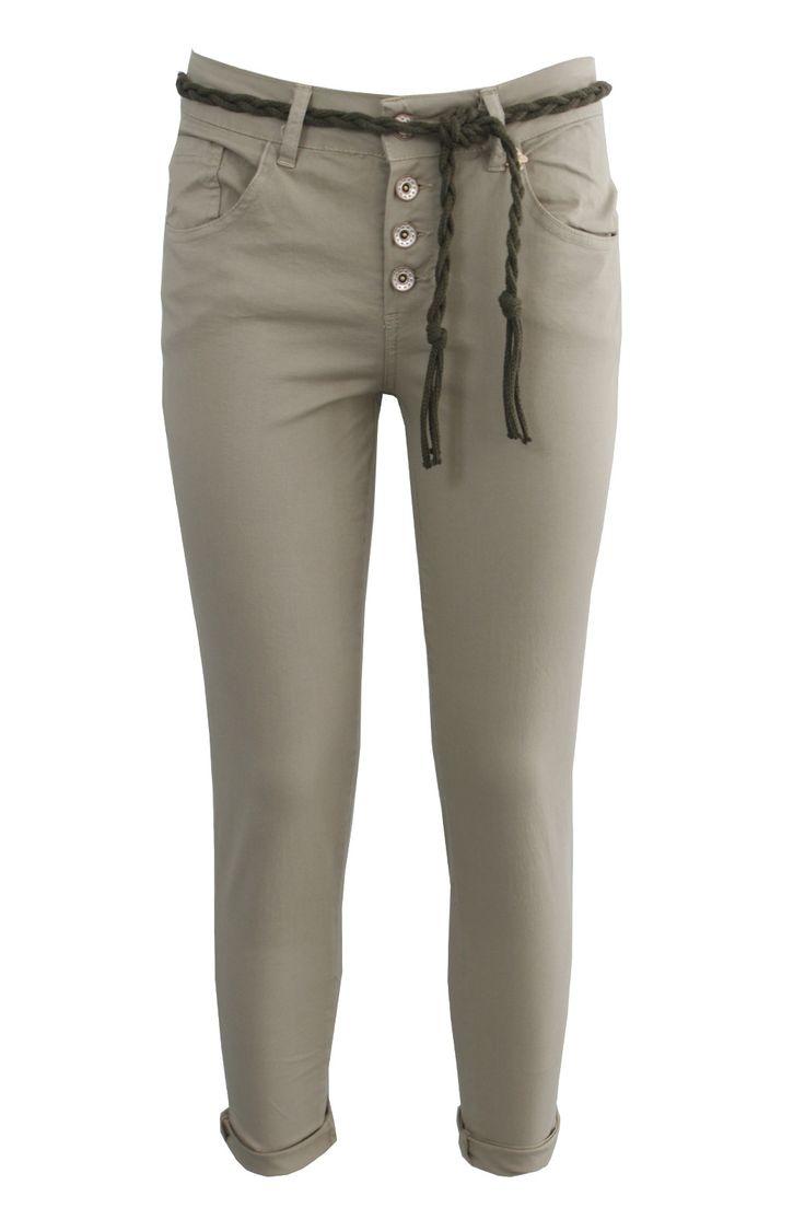 Pantalone capri c/risvolto | Giorgia & Johns
