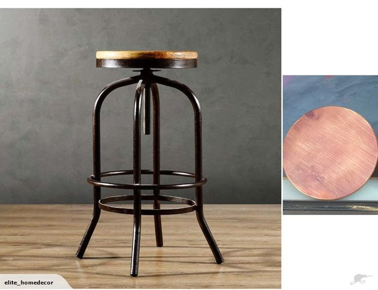 Pair of Rustic Bar Chairs | Trade Me