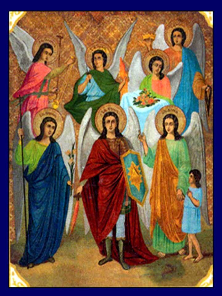 arcangeles | ORACIÓN A LOS 7 ARCÁNGELES: