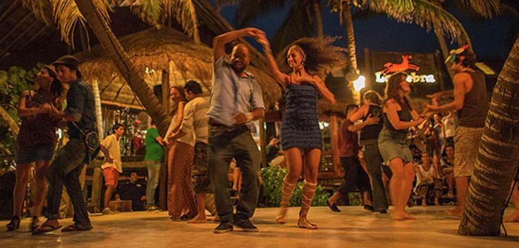 Salsa Night at La Zebra Tulum