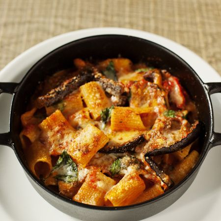 Italian Recipe: Rigatoni Melanzane with aubergines and basil - Evening Bag Recipes - handbag.com