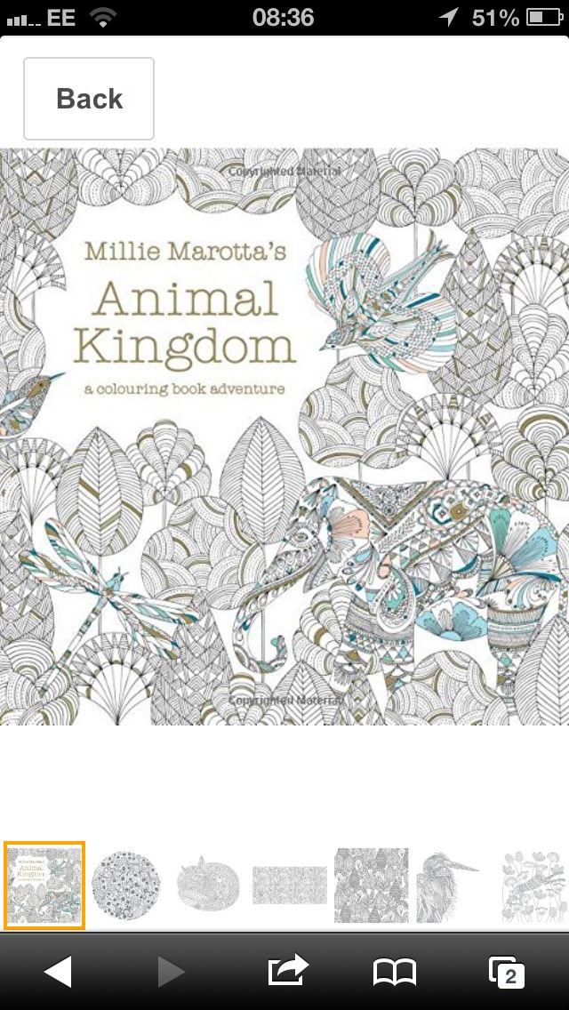 Animal Kingdom Color Me Draw Coloring Book