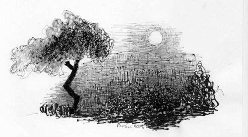 Notte di luna senza pace -Clicca per ingrandire