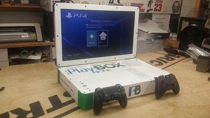 PlayBox: гибрид PS4 и Xbox One в 22-дюймовом ноутбуке. Созданное самопровозглашенным «хакером / проектировщиком» Eddie Zarick, устройство PlayBox сочетает в себе две наиболее популярные игровые консоли нового поколения PlayStation 4 и Xbox One. Подробнее:http://inside.vision/playbox-%D0%B3%D0%B8%D0%B1%D1%80%D0%B8%D0%B4-ps4-%D0%B8-xbox-one-%D0%B2-22-%D0%B4%D1%8E%D0%B9%D0%BC%D0%BE%D0%B2%D0%BE%D0%BC-%D0%BD%D0%BE%D1%83%D1%82%D0%B1%D1%83%D0%BA%D0%B5/