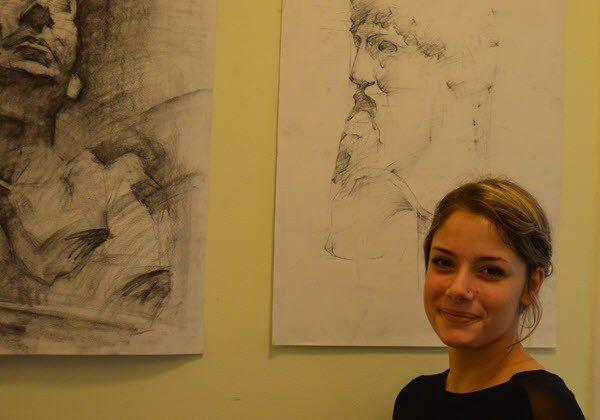 Επιτυχούσα στην Ανώτατη Σχολή Καλών Τεχνών Αθηνών-Ακαδημαϊκό έτος 2015-2016 - Κατερίνα Μπαξεβάνη