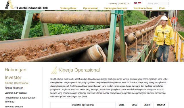 JAKARTA, (tubasmedia.com) – Satu perusahaan lagi akan melantai di Bursa Efek Indonesia (BEI). PT Archi Indonesia Tbk, sebuah perusahaan yang bergerak di pertambangan emas, berencana melakukan penawaran umum perdana (PUP) dengan melepas sebanyak 40,41 persen atau 1,6 miliar sahamnya ke publik.