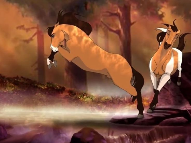 Brave And Cisco Spirit Horse Animation Horse Drawings