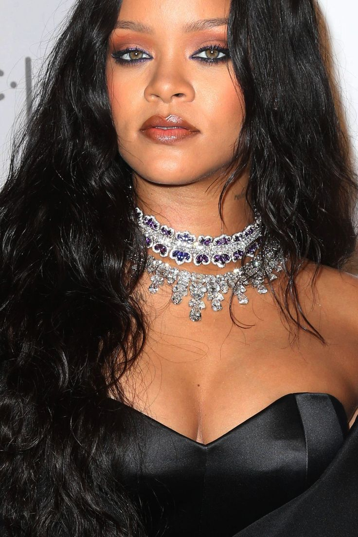 Rihanna at her 3rd annual Diamond Ball in NYC. (14th September 2017) *close up*