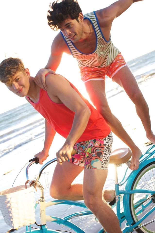 Sebastian Sauve and Felix Bujo ride into summer in Mr Turk