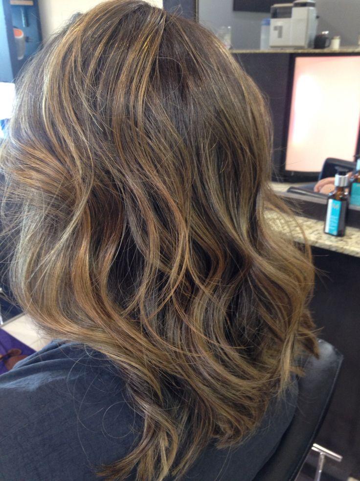 Sombre on dark brown hair