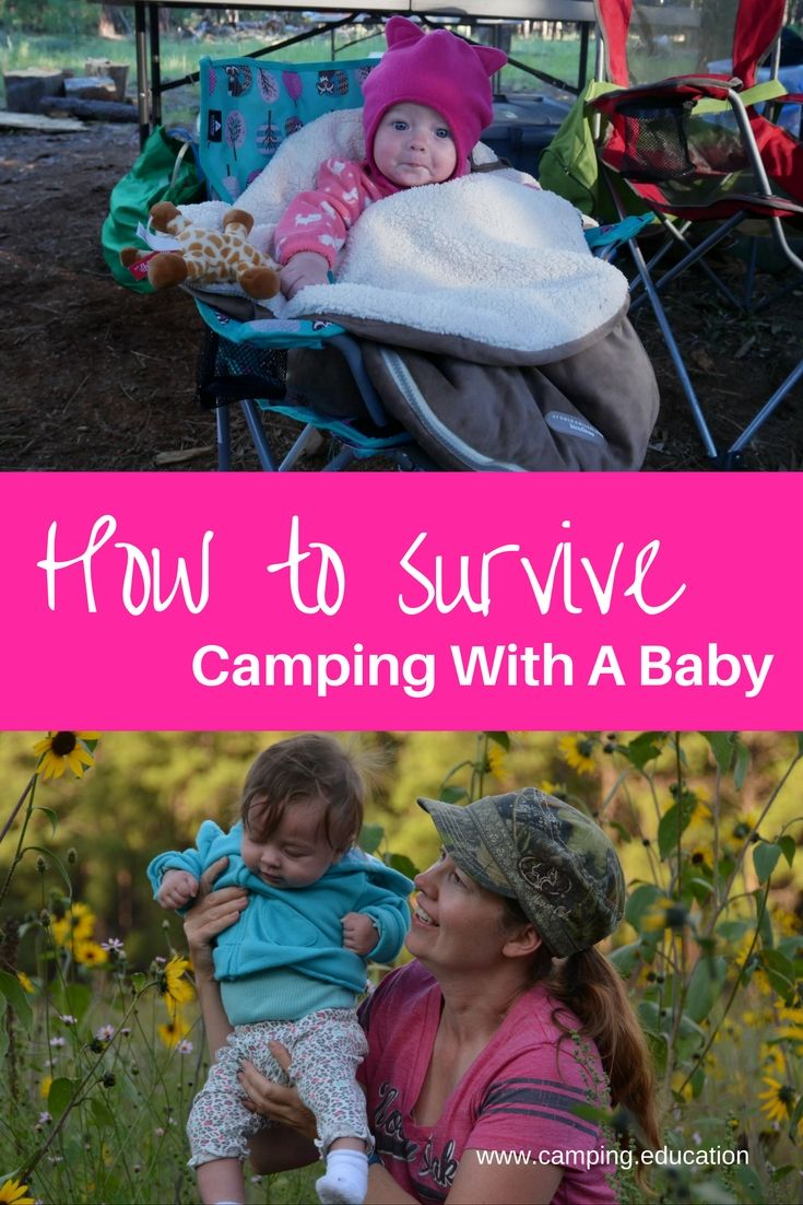 Camping with a baby takes extra planning, with these 9 helpful hints, plus a…