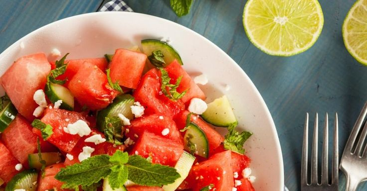 One of my favorite ways to enjoy watermelon is in a delicious salad with other ingredients that complement its flavor.