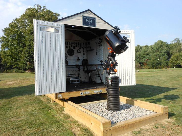 backyard observatories pinterest sheds walter o 39 brien and p