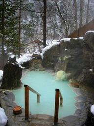 Shirahone Onsen, Gifu -- Hot Tub