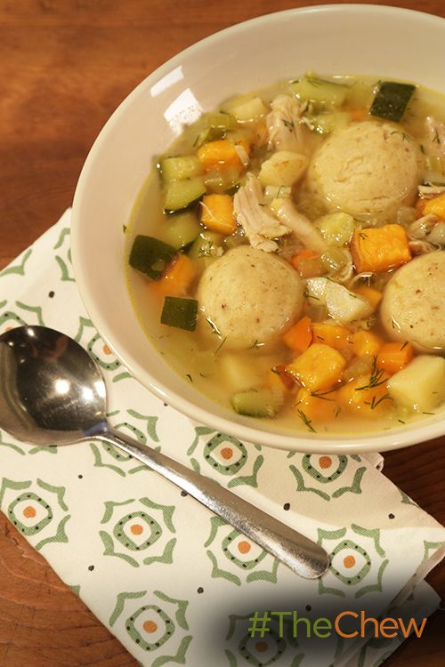 This Chicken Matzo Ball Soup is perfect for Hanukkah!