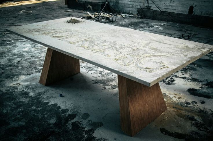 Limesite Top in Dove Grey/ Wooden legs/  Dining Table #Wolkberg