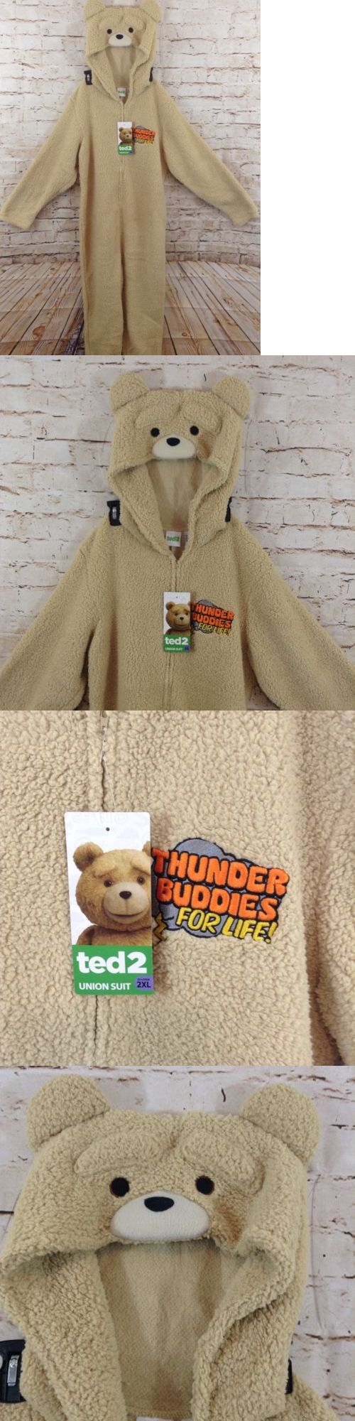 Sleepwear and Robes 166697: Ted Pajamas One Piece Thunder Buddies Life Mens 2Xl Bear New Costume Xxl -> BUY IT NOW ONLY: $34.19 on eBay!
