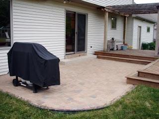 My friend's DIY patio redo.
