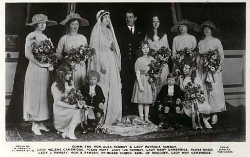 Wedding of Alex Ramsay with Princess Patricia of Connaught