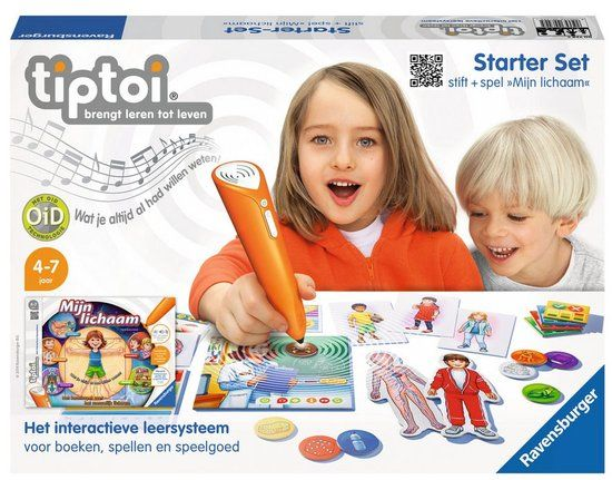 Ravensburger tiptoi - Starterset Spel Mijn Lichaam + Stift