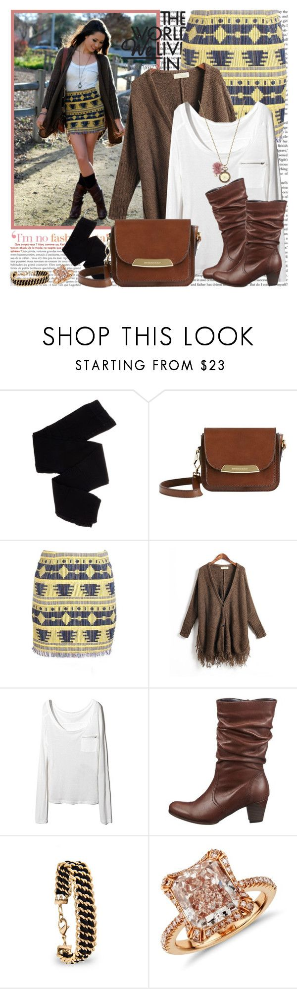 """...You stole my heart but you cant take my mind..."" by klaudia ❤ liked on Polyvore featuring Trasparenze, Burberry, Gabor, MANGO, Blue Nile, chain necklaces, crossbody bags, ankle boots, long shirts and pencil skirts"
