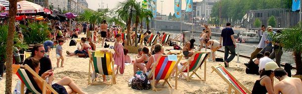 Tijdens de warme zomerdagen in Brussel is het aangenaam om te kunnen zwemmen en aan het strand te kunnen liggen. Brussel bad is de ideale plaats om dit te doen.