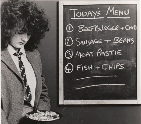School dinners. Picture says it all really lol