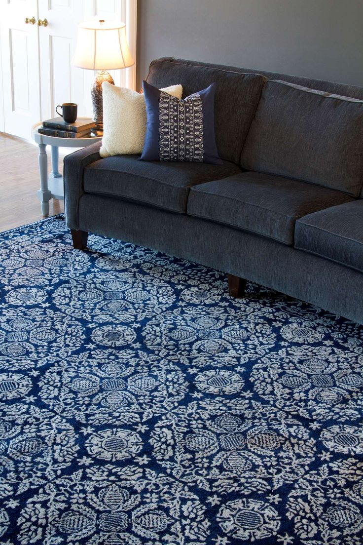 38 Best Area Rugs Living Room Blue Indigo Images On