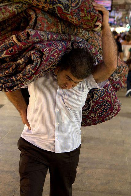 Grand Bazaar Rug Merchant - Turkey
