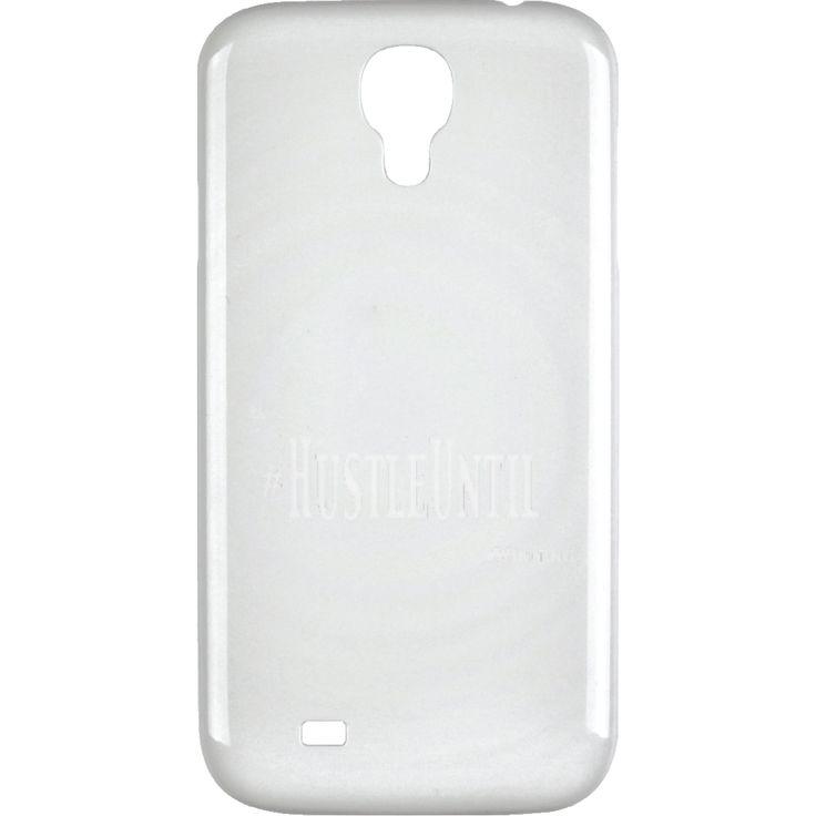 HUSTLE UNTIL - Samsung Galaxy 4 Case Wht