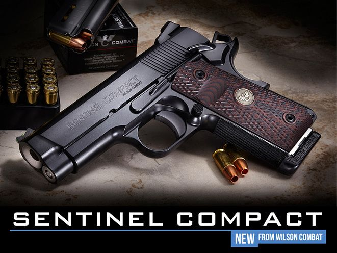 The Wilson Combat Sentinel Compact combines precision, reliability and attention to detail in a practical, concealable size.