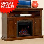 Daily Doorbuster- the Lynwood Electric Fireplace Media Cabinet, $350 Off! #specialoffer #bargain  http://www.electricfireplacesdirect.com/electric-fireplace-clearance