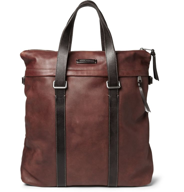 Dolce Gabbana Men s Leather Tote