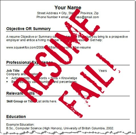 Read why Some college  - some college on resume