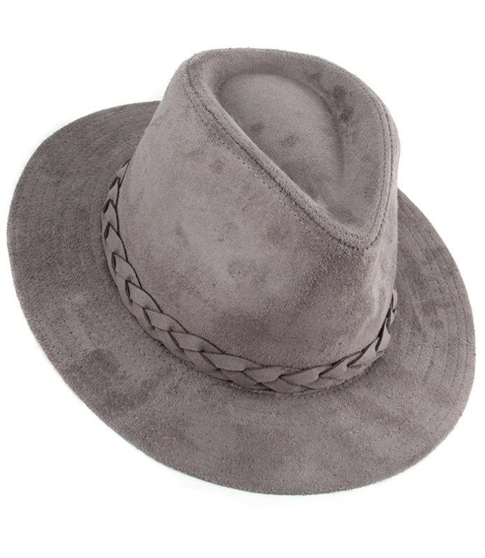 These suede fedoras are perfect for any fall wardrobe.