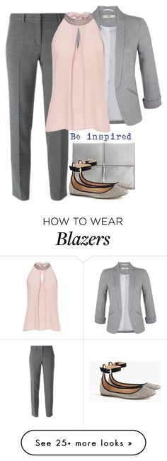 """""""Casual Office Style"""" by cloudybooks on Polyvore featuring Ivanka Trump, J.Crew, DKNY, Miss Selfridge and Vera Mont"""