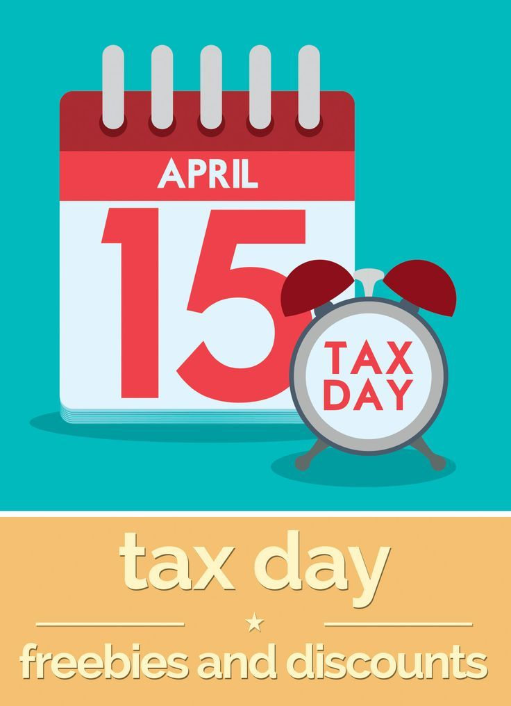 Freebies and deals on tax day
