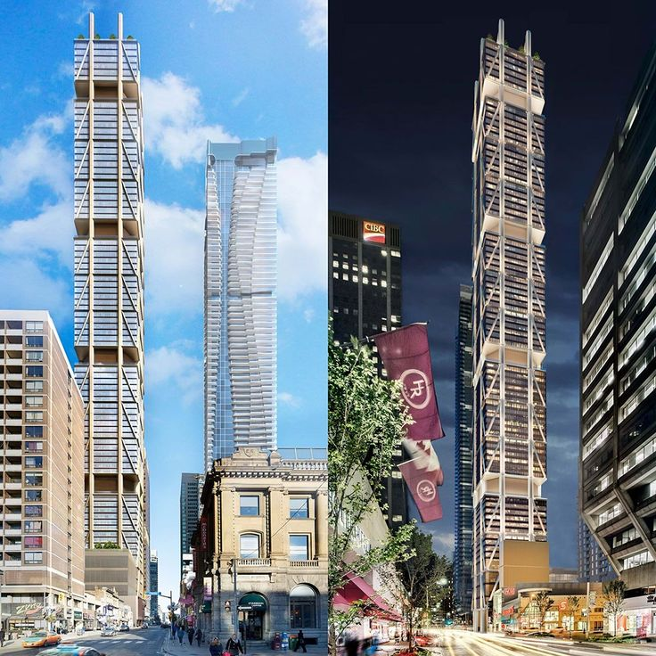 The One development at Yonge and Bloor in downtown Toronto