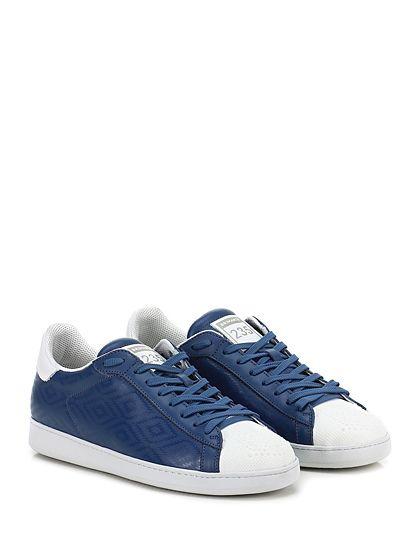 BRIMARTS - Sneakers - Uomo - Sneaker in pelle stampata con puntale lavorato e suola in gomma. Tacco 30, platform 20 con battuta 10. - AVIO - € 149.00
