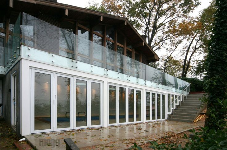 18 best images about design ideas glass railings on for Exterior glass railing