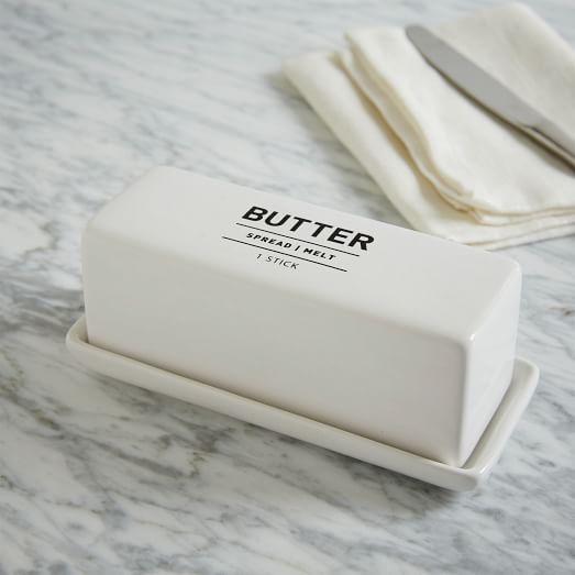 Utility Butter Dish   west elm