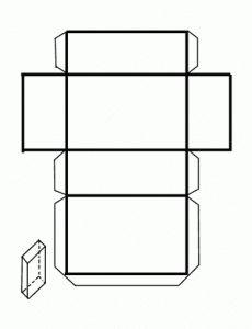 El paralelepípedo; Cuerpos Geométricos.recortable figuras geometricas bidimensionales
