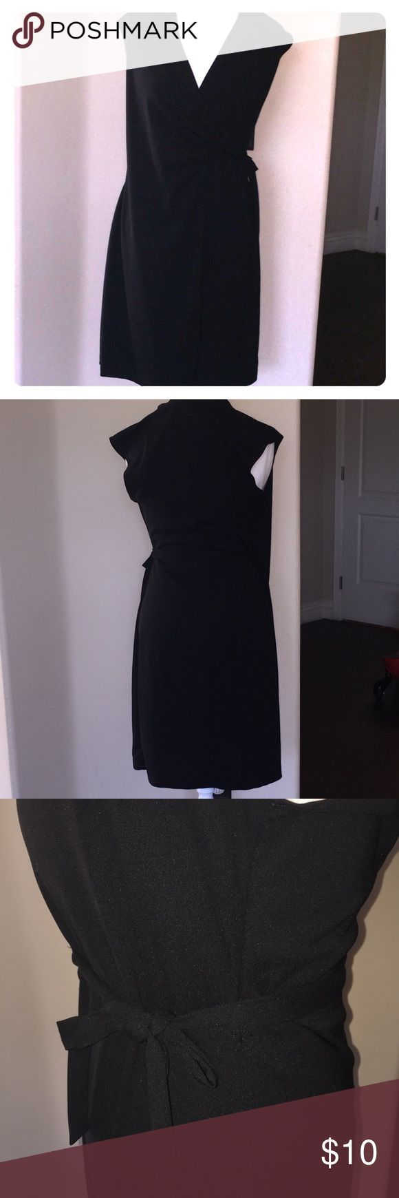 New York & Company Wrap Dress, M Wrap dress, size M, worn a handful of times, excellent second hand dress with no flaws. Paid $39  I have another NY&C dress listed, bundle to save on shipping! New York & Company Dresses Midi