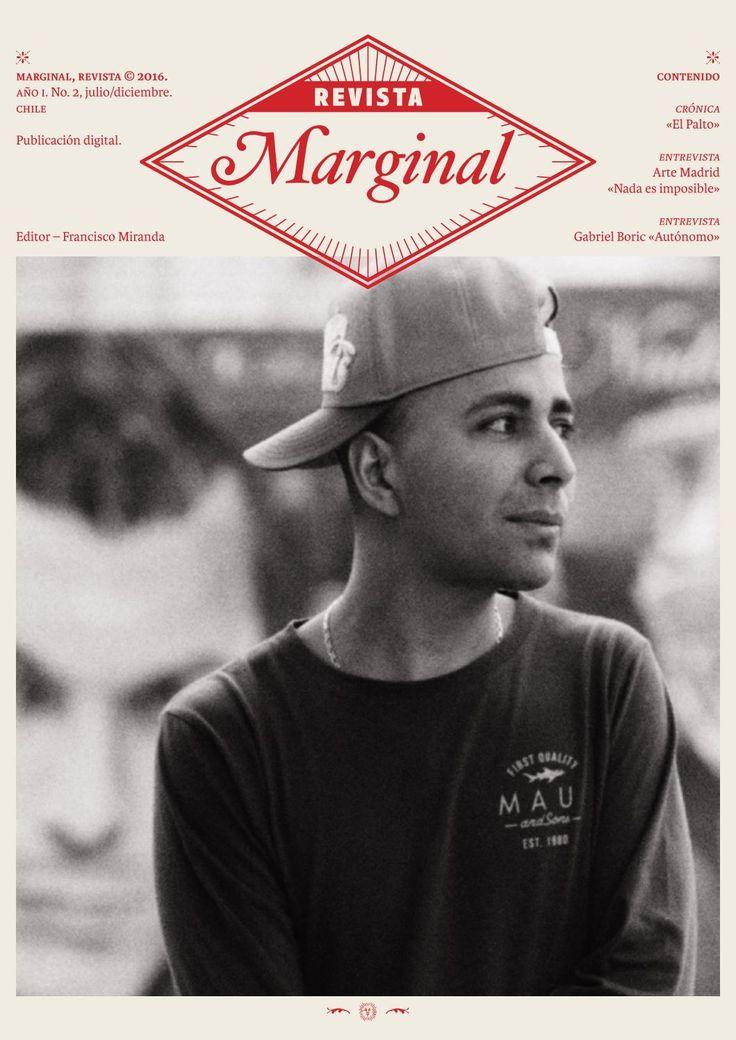 Revista Marginal No.2  Revista Marginal, 2016 No. 2, julio/diciembre Editor Francisco Miranda CC Rm00216