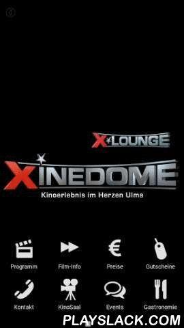 Xinedome Ulm  Android App - playslack.com , Xinedome Ulm - Kinoerlebnis im Herzen Ulms. Insgesamt stehen 8 Kinosäle und 1.800 Sitzplätze im gesamten Komplex zur Verfügung. Technisch ist das Xinedome Ulm auf dem neuesten Stand: 3D Kino, HFR, Tonverbesserung und digitale Technik. Das Xinedome Ulm ist zudem komplett barriefrei. Unsere App bietet Ihnen das aktuelle Kino-Programm mit allen dazugehörigen Film-Infos. Sie können Ihren Wunschfilm direkt reservieren. Durch die 1-Klick-Funktion in der…