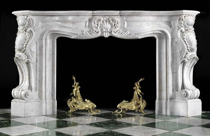 17 best images about fireplace on pinterest english for Acheter miroir baroque