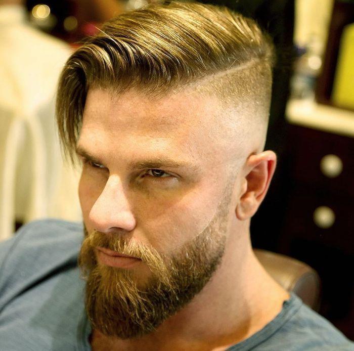 Undercut männer lange haare Lange Haare