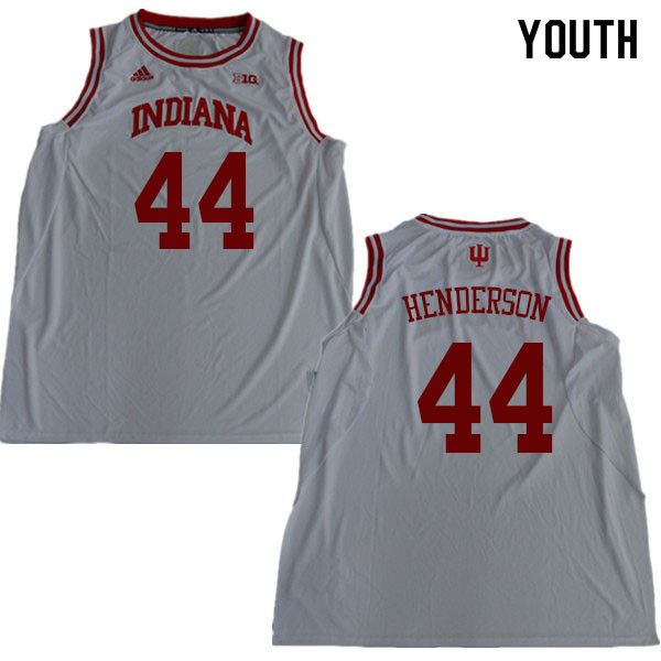 new style c6112 30382 Youth #44 Alan Henderson Indiana Hoosiers College Basketball ...